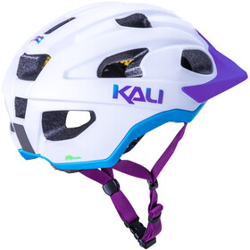 Kali Pace SLD Casco, matt white/blue/purple